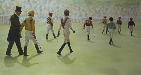 Jockeys to the Parade Ring, Ascot