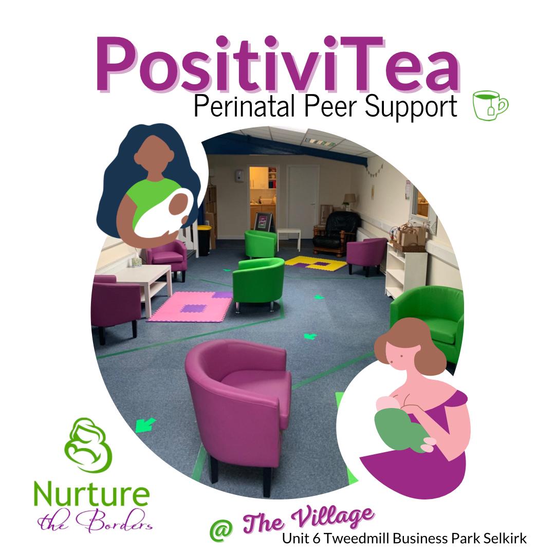 PositiviTea Peer Support