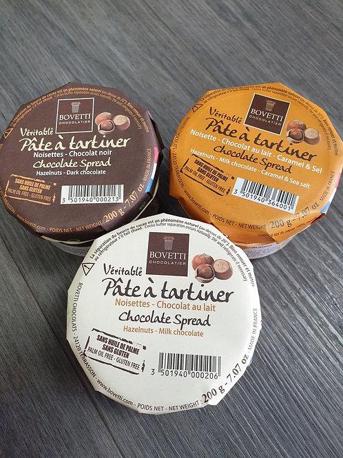 Pâte à tartiner Chocolat Lait-Caramel-Noisette