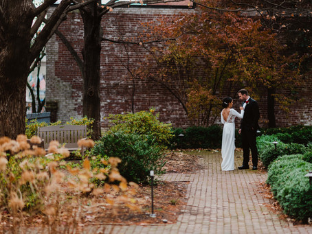 Wedding at the Carlyle House
