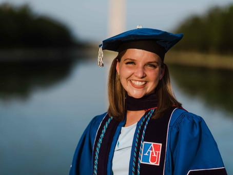 Law School Graduation portraits at the Lincoln Memorial