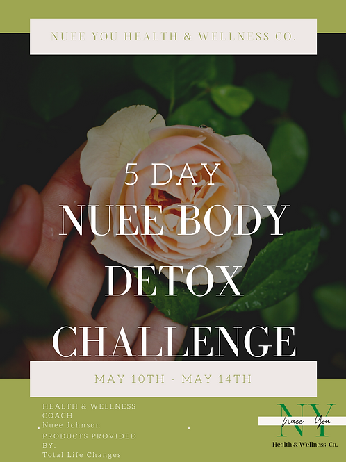 5 Day Nuee Body Detox Challenge