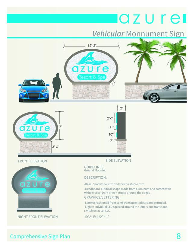 Vehicular Movement Sign