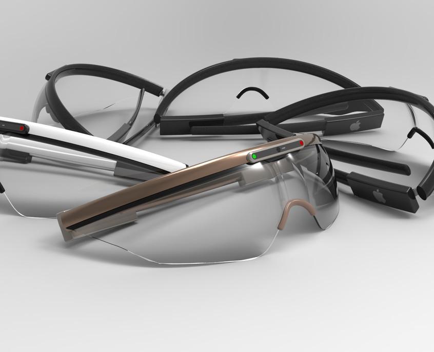 Apple Lenses 3D Rendering