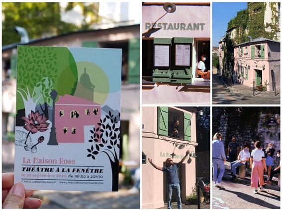Théâtre à la fenêtre - Maison Rose, Paris