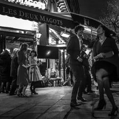Soirée du centenaire de Boris Vian, Les Deux Magots, Paris.