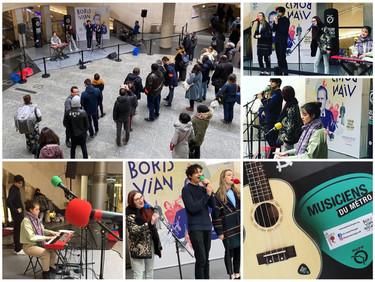 Concert RATP - Musiciens du métro.