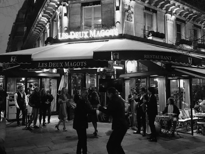 Deux Magots, Paris - 9 Mars 2020.