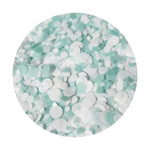 Minty Glitter Pot