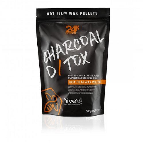 Charcoal D/TOX Hot Film Wax Pellets 500g