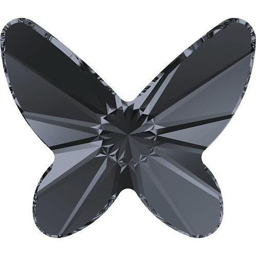 Swarovski Crystals -Silver Night  Butterflies 4