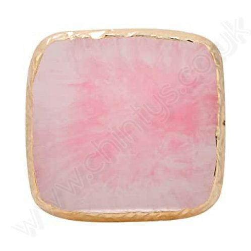 Pink Quartz  Square Nail Art Pallette
