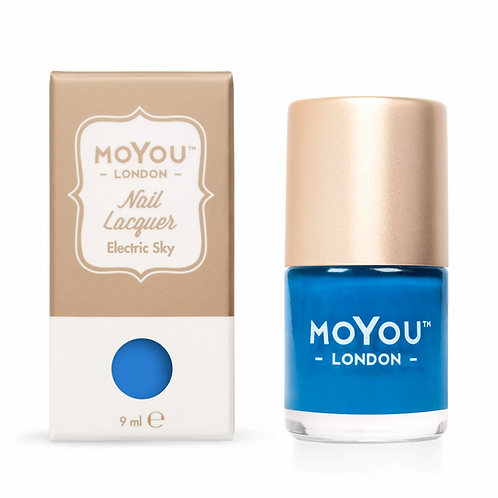 MoYou Premium Stamping Polish - Electric Sky