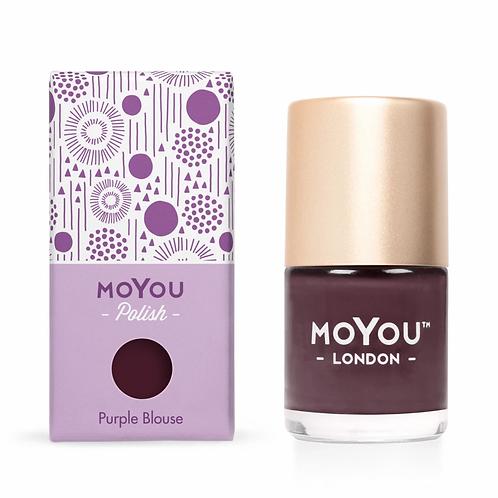 MoYou Premium Stamping Polish - Purple Blouse