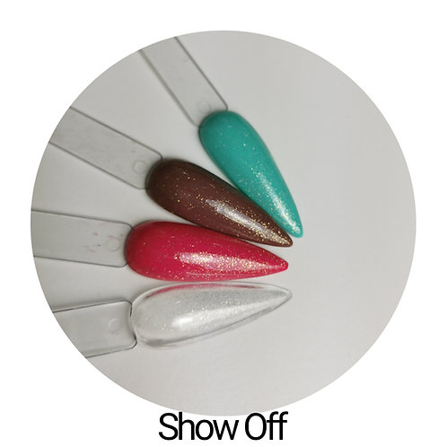 Show Off Sparkly Top Coat 15ml