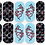Thumbnail: Designer Inspired Navy Graffiti, Snake Decals