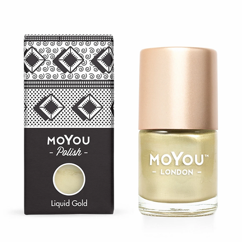 MoYou Premium Stamping Polish - Liquid Gold