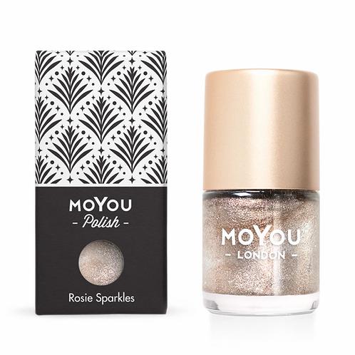MoYou Premium Stamping Polish - Rosie Sparkles