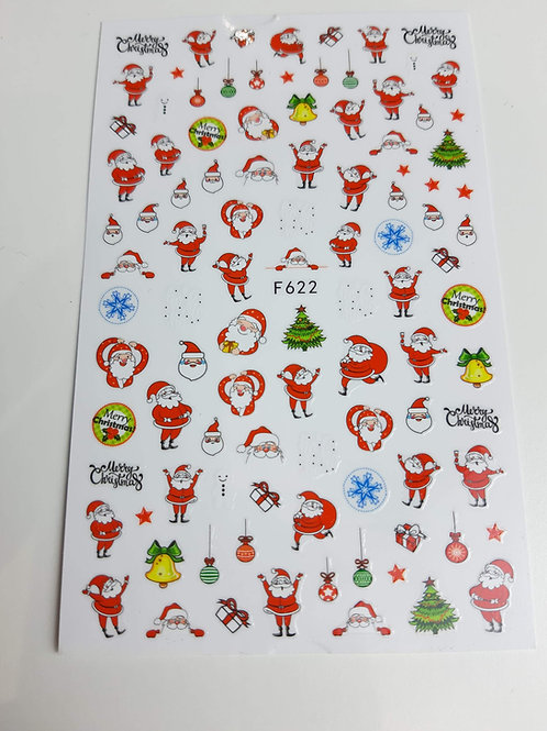 Christmas Sticker Sheet F622