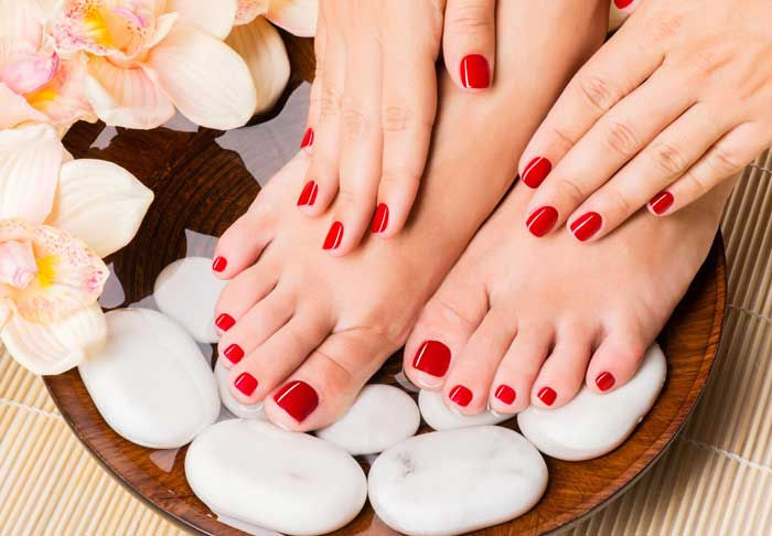 Manicure and Pedicure 16th August 2021