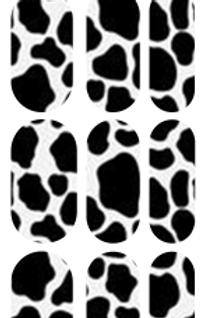 Cow Print Decals