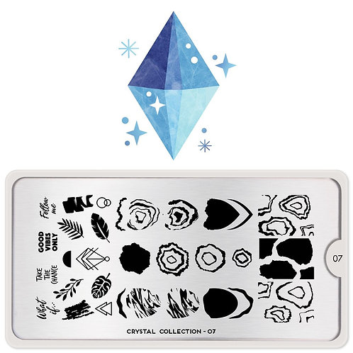 MoYou Crystal 07 Stamping Plate