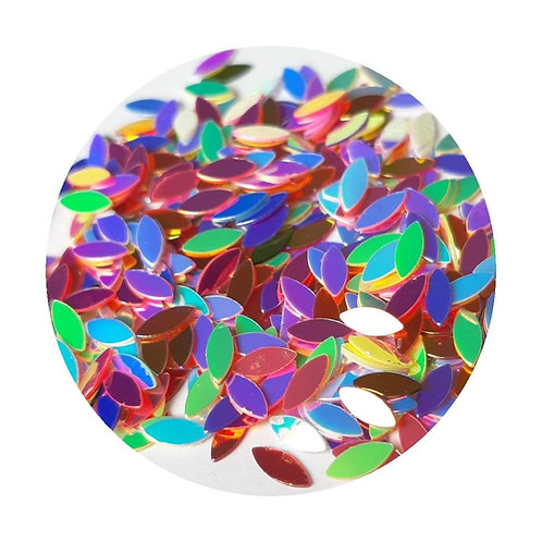 Multi Coloured Glitter Pot