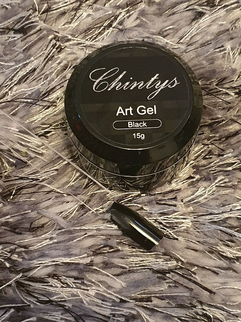 Art Gel Black 15g