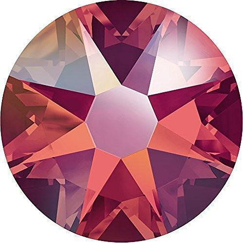 Swarovski Crystals - SS5 Light Siam Ab 50