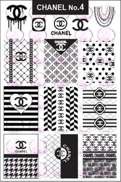 Chanel No4 Mundo De U?as Stamping Plate