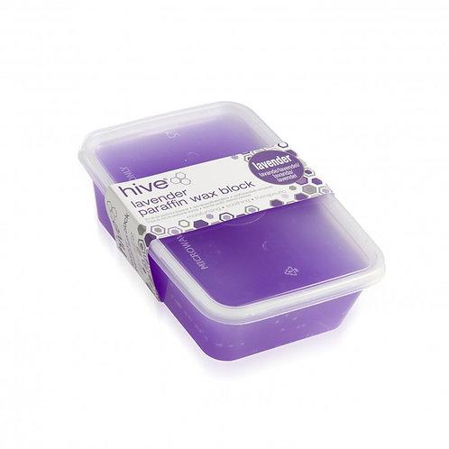 Hive Lavender Low Melt Paraffin Wax Block 450g