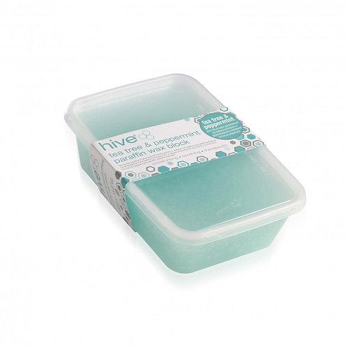 Hive Tea Tree & Peppermint Low Melt Paraffin Wax Block 450g