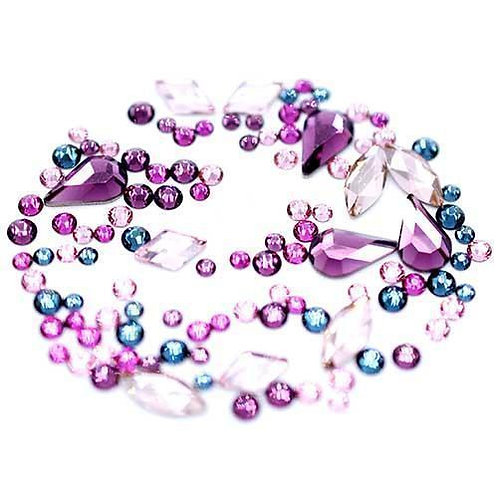 Swarovski Crystals Mix - Wizard Mix Pink 250