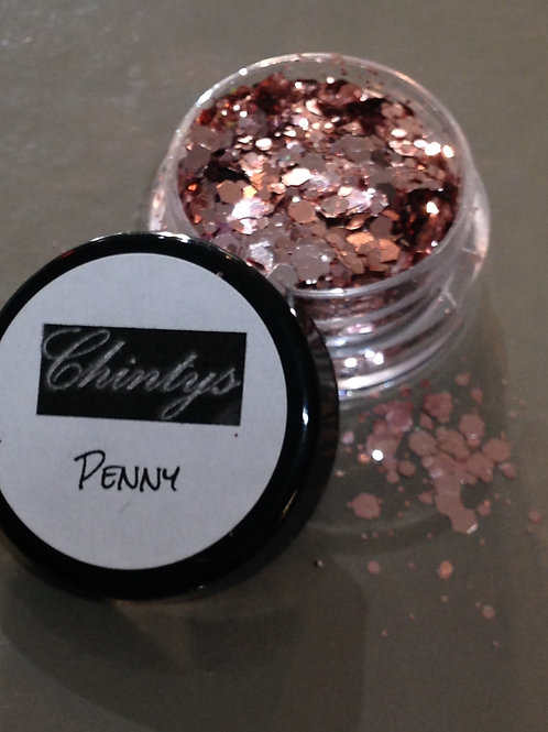 Penny Glitter Pot