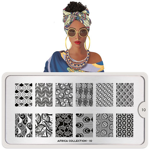 MoYou Africa 10 Stamping Plate