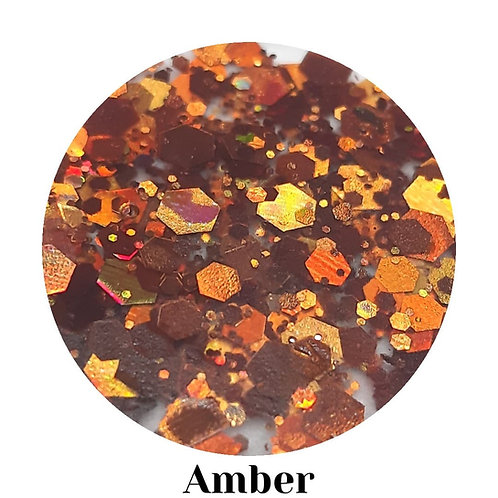 Amber Acrylic Powder 20g