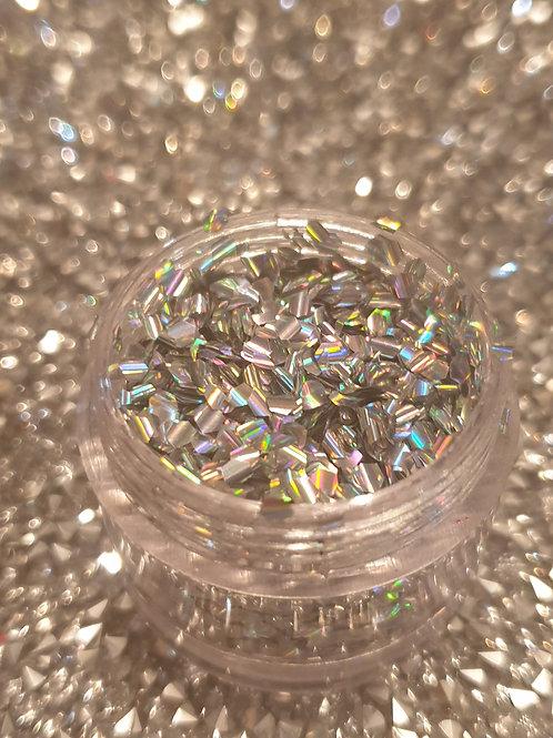 Silver Glimmer Glitter Pot