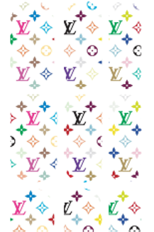 Lv Multi inspired Decals