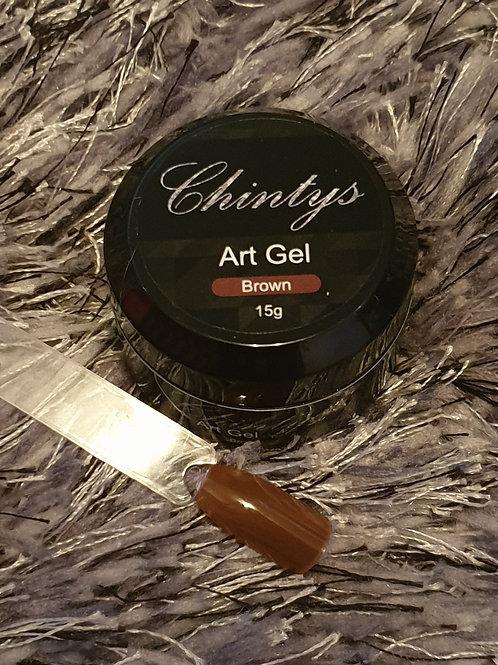 Art Gel Brown 15g