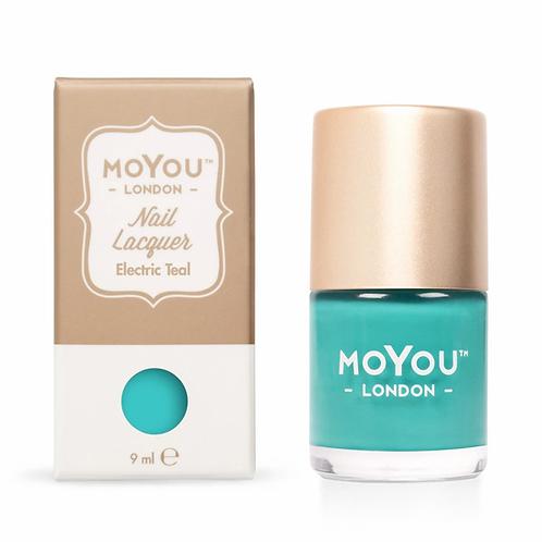 MoYou Premium Stamping Polish - Electric Teal