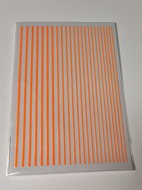 Flexible Striping Tape - Neon Orange