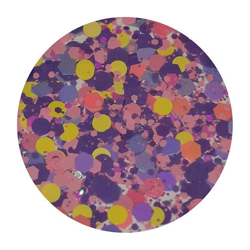 Pastel Delight Glitter Pot