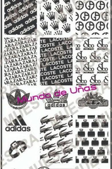 MOD 347 - Mundo De Unas Stamping Plate