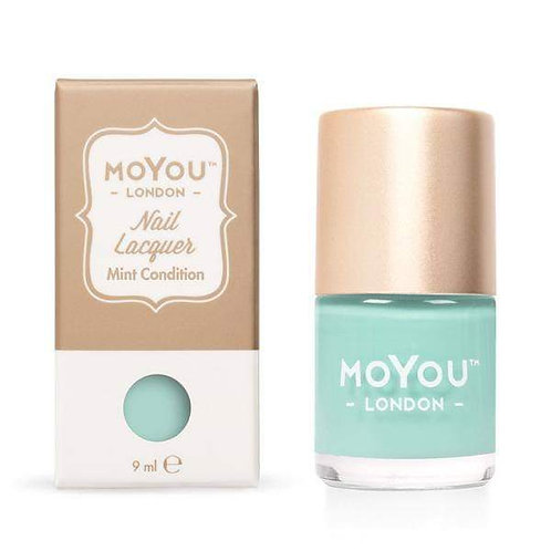 MoYou Premium Stamping Polish- Mint Condition