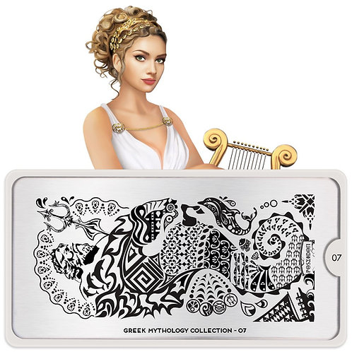 MoYou Stamping Plate - Greek Mythology 07