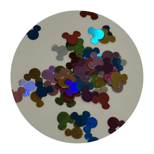 Multi Mickey Glitter Pot
