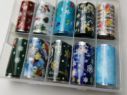 Christmas Foil Box