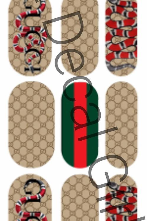 Designer Inspired Snakes Decals