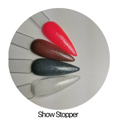 Show Stopper Sparkly Top Coat 15ml