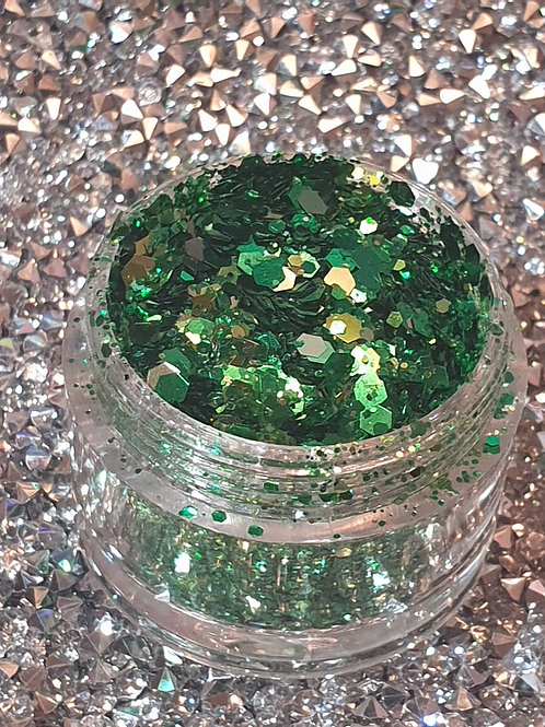 Golden Witch Glitter Pot